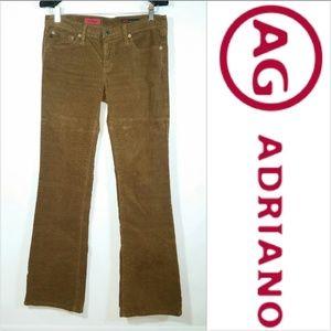 "AG The Angel Corduroy Pants Bootcut 32"" Inseam EUC"